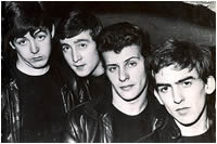 Pete Best with The Beatles in the Cavern